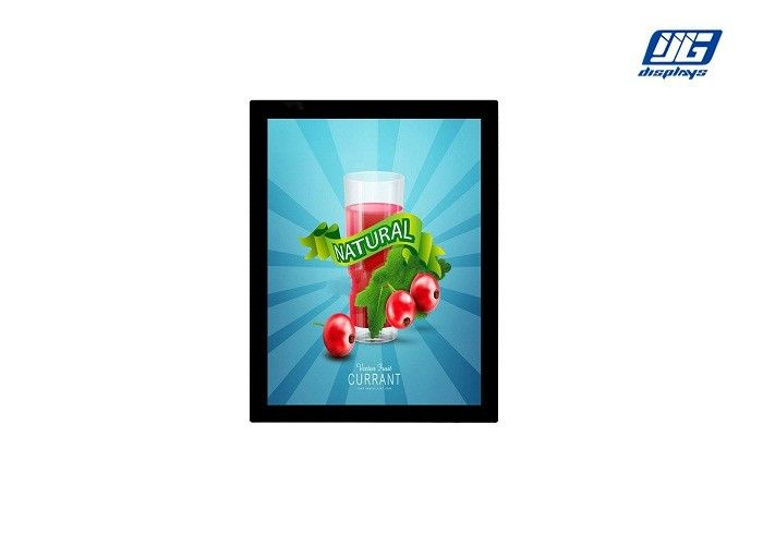 High Lighting Magnetic Light Box , A3 Magnetic Print Frame Double Sides Advertising